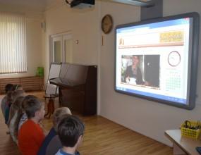 Nodarbība ar interaktīvo tāfeli